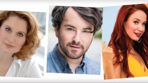 Christy Altomare, Christiane Noll, Alex Brightman and Sierra Boggess