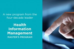 Master of Science in Health Information Management master's program
