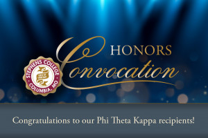 Congratulations to our Phi Theta Kappa recipients!