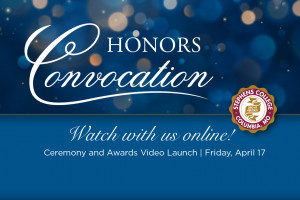 Watch Honors Convocation Online Friday, April 17