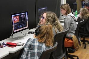 Digital Filmmaking Students