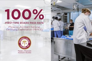 100% First-Time Board Pass Rate