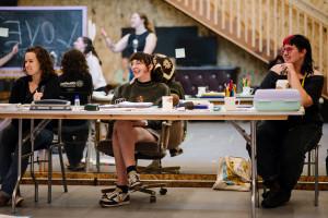 students at okoboji
