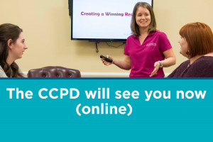 The CCPD will see you now (online)